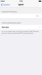 Apple iPhone 6 iOS 8 - E-mail - Configurar correo electrónico - Paso 21
