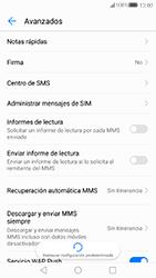 Huawei P10 - MMS - Configurar el equipo para mensajes de texto - Paso 9