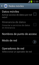Samsung S7560 Galaxy Trend - Internet - Activar o desactivar la conexión de datos - Paso 7