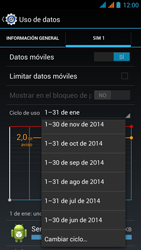 Wiko Stairway - Internet - Ver uso de datos - Paso 7