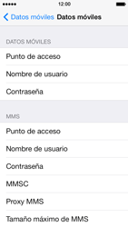 Apple iPhone 5s - Internet - Configurar Internet - Paso 6