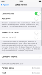 Apple iPhone 6 iOS 8 - Internet - Activar o desactivar la conexión de datos - Paso 4