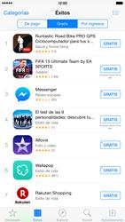 Apple iPhone 6 Plus iOS 8 - Aplicaciones - Tienda de aplicaciones - Paso 6