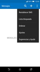 HTC One M9 - MMS - Configurar el equipo para mensajes de texto - Paso 6