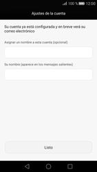 Huawei Ascend G7 - E-mail - Configurar Outlook.com - Paso 8