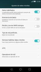 Huawei Ascend G7 - MMS - Configurar el equipo para mensajes multimedia - Paso 6