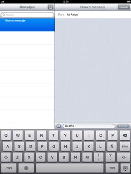 Apple iPad 2 - MMS - Escribir y enviar un mensaje multimedia - Paso 8
