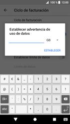 Sony Xperia XZ1 - Internet - Ver uso de datos - Paso 12