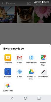 LG Q6 - Connection - Transferir archivos a través de Bluetooth - Paso 9