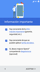 Sony Xperia XA1 - Primeros pasos - Activar el equipo - Paso 6