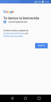 LG Q6 - E-mail - Configurar Gmail - Paso 13