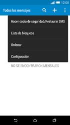 HTC One M8 - MMS - Configurar el equipo para mensajes de texto - Paso 6