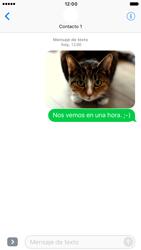 Apple iPhone 6s iOS 10 - MMS - Escribir y enviar un mensaje multimedia - Paso 16