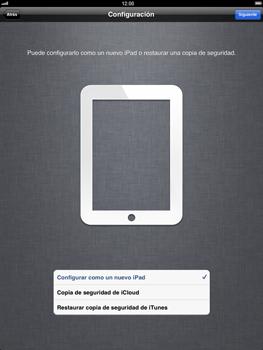 Apple iPad 2 - Primeros pasos - Activar el equipo - Paso 9