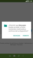 BQ Aquaris U - MMS - Escribir y enviar un mensaje multimedia - Paso 12