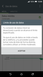 HTC One A9 - Internet - Ver uso de datos - Paso 9
