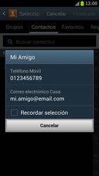 Samsung I9300 Galaxy S III - MMS - Escribir y enviar un mensaje multimedia - Paso 7