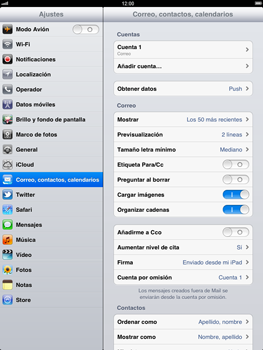 Apple iPad 2 - E-mail - Configurar correo electrónico - Paso 14