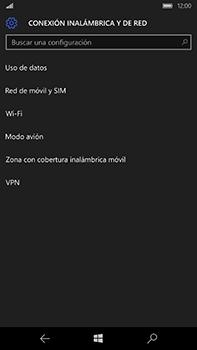 Microsoft Lumia 950 XL - Red - Activar o desactivar el modo avión - Paso 5