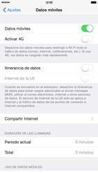 Apple iPhone 6 Plus iOS 8 - Internet - Activar o desactivar la conexión de datos - Paso 4