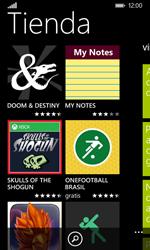 Nokia Lumia 635 - Aplicaciones - Tienda de aplicaciones - Paso 4