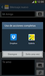 Samsung S7580 Galaxy Trend Plus - MMS - Escribir y enviar un mensaje multimedia - Paso 15