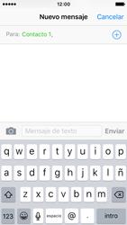 Apple iPhone SE - MMS - Escribir y enviar un mensaje multimedia - Paso 7