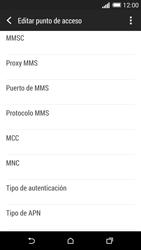 HTC One M8 - MMS - Configurar el equipo para mensajes multimedia - Paso 12