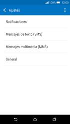 HTC One M9 - MMS - Configurar el equipo para mensajes de texto - Paso 7