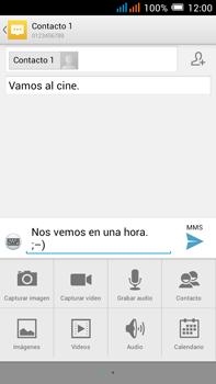 Alcatel Pop C9 - MMS - Escribir y enviar un mensaje multimedia - Paso 14