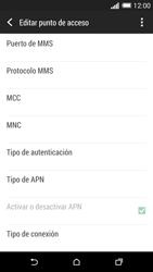 HTC One M8 - Internet - Configurar Internet - Paso 11