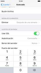 Apple iPhone 6s iOS 10 - E-mail - Configurar correo electrónico - Paso 24