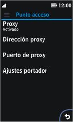 Nokia Asha 311 - MMS - Configurar el equipo para mensajes multimedia - Paso 10