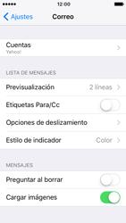 Apple iPhone SE - iOS 10 - E-mail - Configurar Yahoo! - Paso 9
