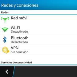 BlackBerry Q5 - Connection - Conectar dispositivos a través de Bluetooth - Paso 5