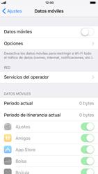 Apple iPhone 8 - Internet - Activar o desactivar la conexión de datos - Paso 5