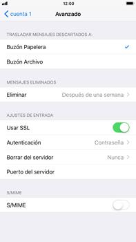 Apple iPhone 7 Plus iOS 11 - E-mail - Configurar correo electrónico - Paso 22
