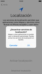 Apple iPhone 6s iOS 10 - Primeros pasos - Activar el equipo - Paso 10