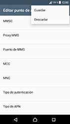 Sony Xperia XA1 - MMS - Configurar el equipo para mensajes multimedia - Paso 15
