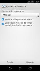 Sony D2203 Xperia E3 - E-mail - Configurar correo electrónico - Paso 16