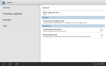 Samsung P7500 Galaxy Tab 10-1 - Internet - Configurar Internet - Paso 16