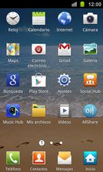 Samsung I8160 Galaxy Ace II - E-mail - Escribir y enviar un correo electrónico - Paso 3