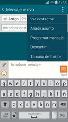 Samsung G850F Galaxy Alpha - MMS - Escribir y enviar un mensaje multimedia - Paso 10