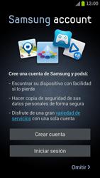 Samsung I9300 Galaxy S III - Primeros pasos - Activar el equipo - Paso 8