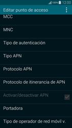 Samsung G850F Galaxy Alpha - Internet - Configurar Internet - Paso 11