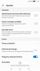 Huawei P10 - MMS - Configurar el equipo para mensajes de texto - Paso 6