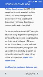 HTC One A9 - Primeros pasos - Activar el equipo - Paso 6