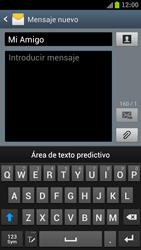 Samsung I9300 Galaxy S III - MMS - Escribir y enviar un mensaje multimedia - Paso 9