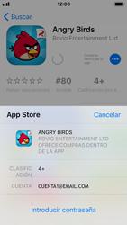 Apple iPhone SE - iOS 11 - Aplicaciones - Descargar aplicaciones - Paso 13