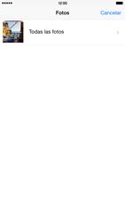 Apple iPhone 6 Plus iOS 8 - MMS - Escribir y enviar un mensaje multimedia - Paso 10